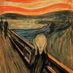 1893 --- The Scream by Edvard Munch --- Image by © Burstein Collection/CORBIS